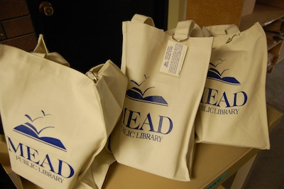 Mead Library bookbags