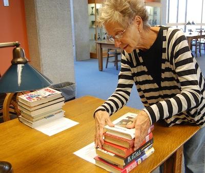 Volunteer at library