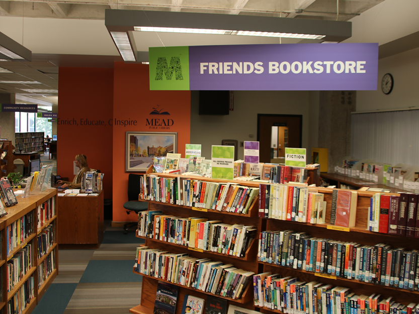 friends of mead public library bookstore