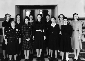Library staff 1941